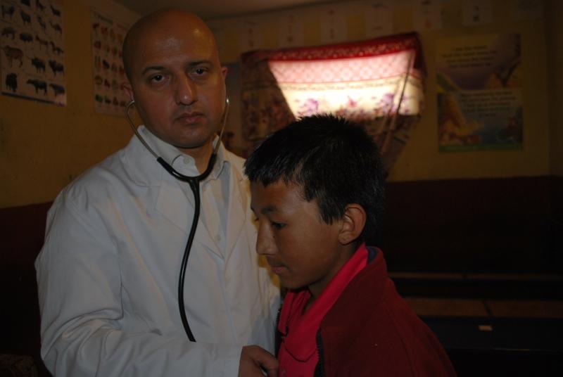 One Day Free Health Camp in Karnali Zone